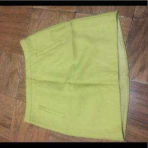 J.Crew Mustard Yellow Skirt